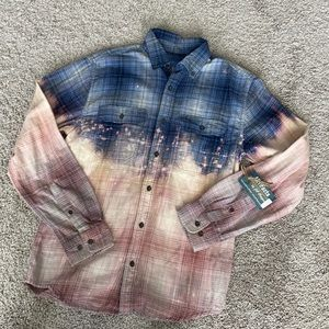 BNWT Hand Dyed Flannel